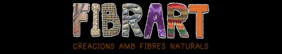 Creacions amb fibres naturals.