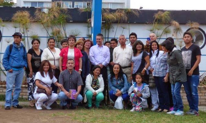 Conferencia en Popayán, 13 de septiembre de 2014