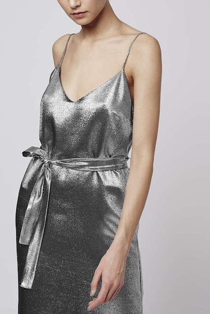 topshop boutique silver lame dress, silver lame dress,