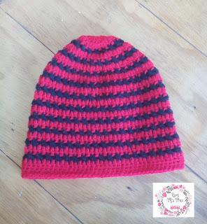 "Cross ""X"" Stitch Slouch Hat"