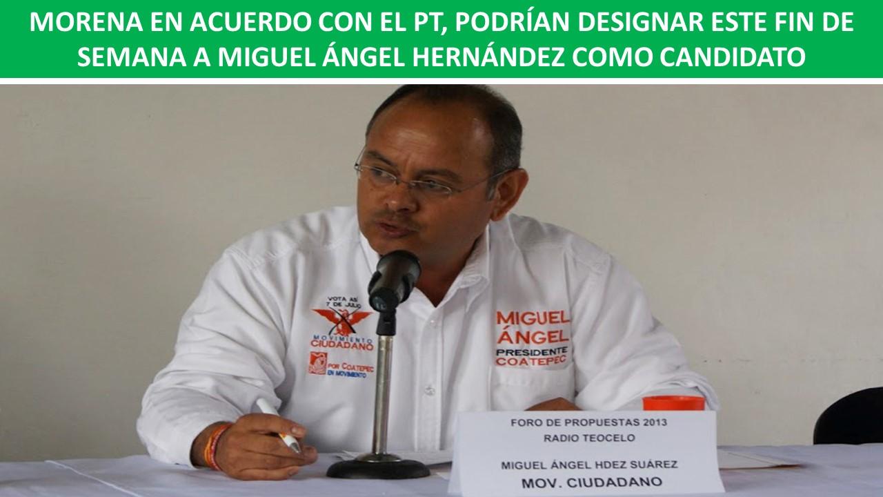 HERNÁNDEZ SUÁREZ, POTENCIAL CANDIDATO