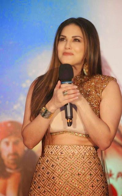 Sunny Leone Stills At Ek Paheli Leela Hindi Movie Promotions