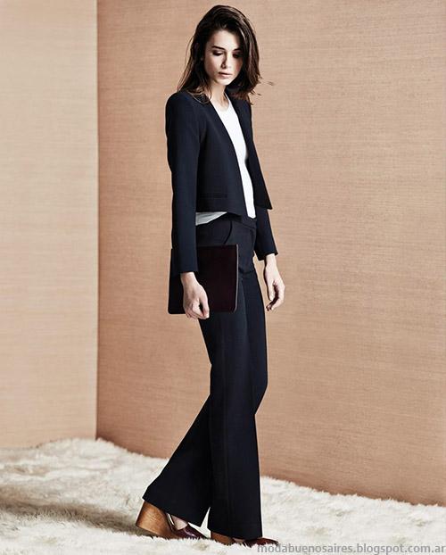 Pantalones de vestir Etiqueta Negra Mujer otoño invierno 2015.