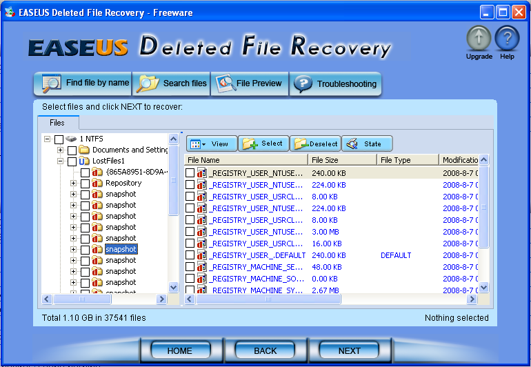 Recovery deleted files very easily (with pictures of full tutorial ...