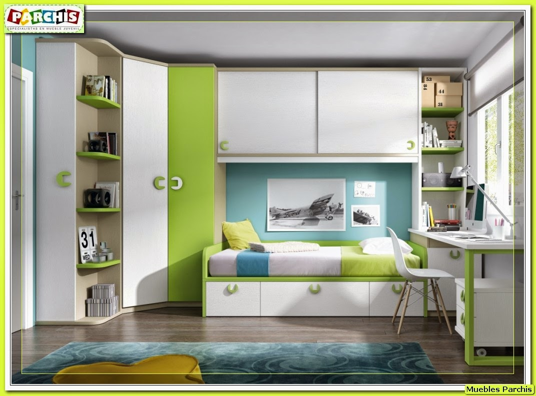 Muebles juveniles dormitorios infantiles y habitaciones - Camas nido diseno ...