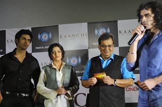 Kartik, Mishti, Subhash Ghai & Imtiaz Ali at