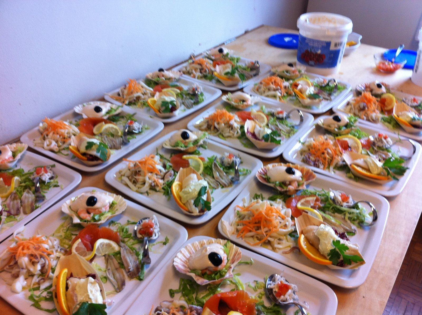 Arte Cucina': Un Pranzo Di Pesce''antipasto #9F5F2C 1600 1195 Foto Di Mattonelle Per Cucina