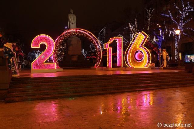 оформление москвы к новому 2016 году фото