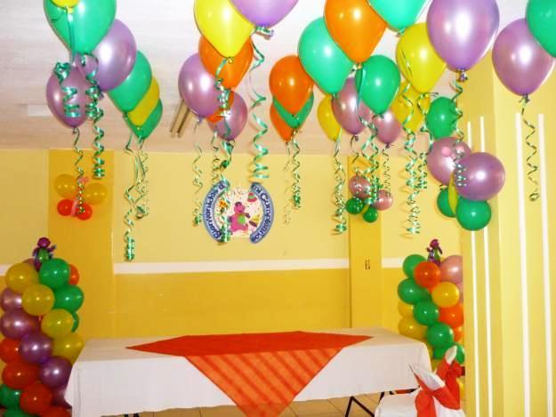 La fiesta de mi peque Decoracion de fiestas con globos