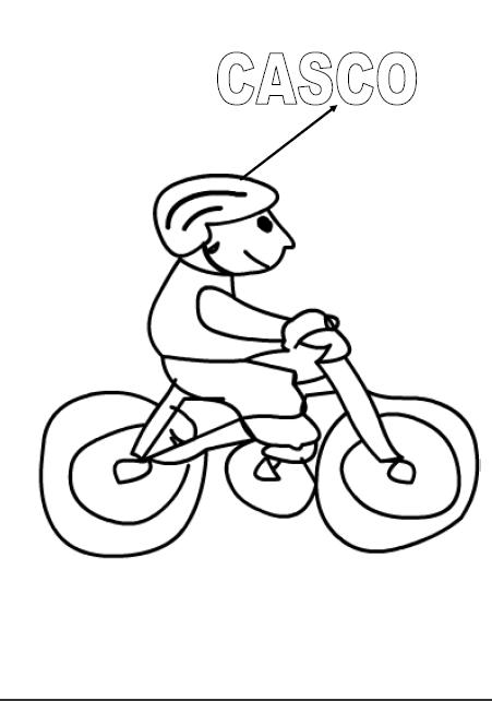 Dibujo para colorear las señales de prevencion - Imagui