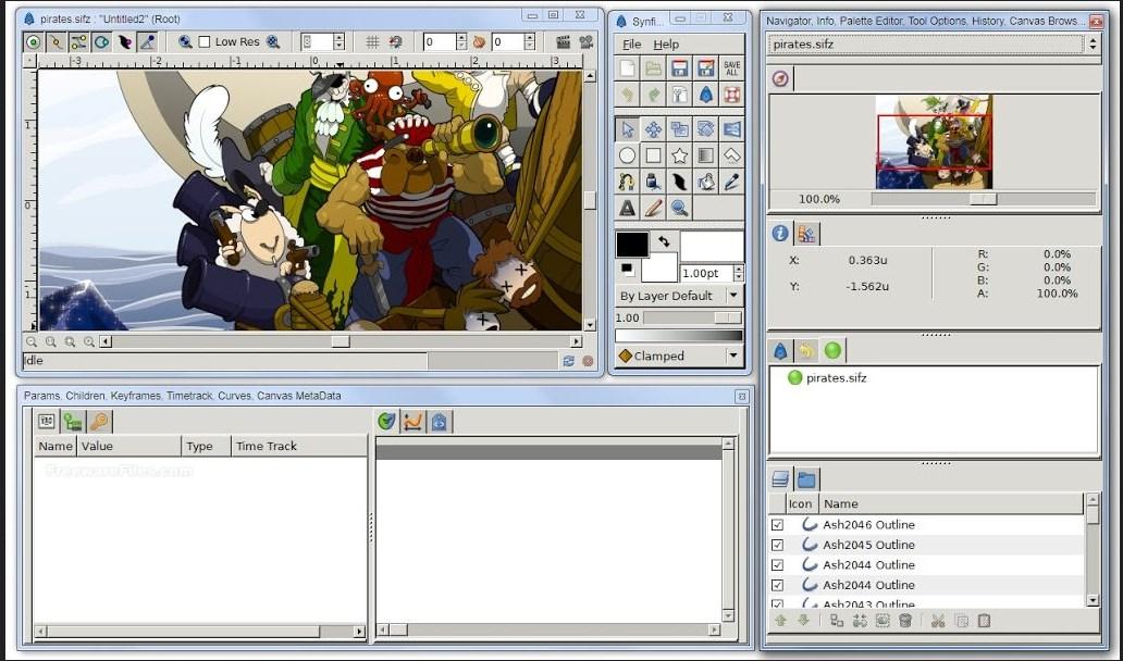 Download Software Synfig Animation Studio Aplikasi
