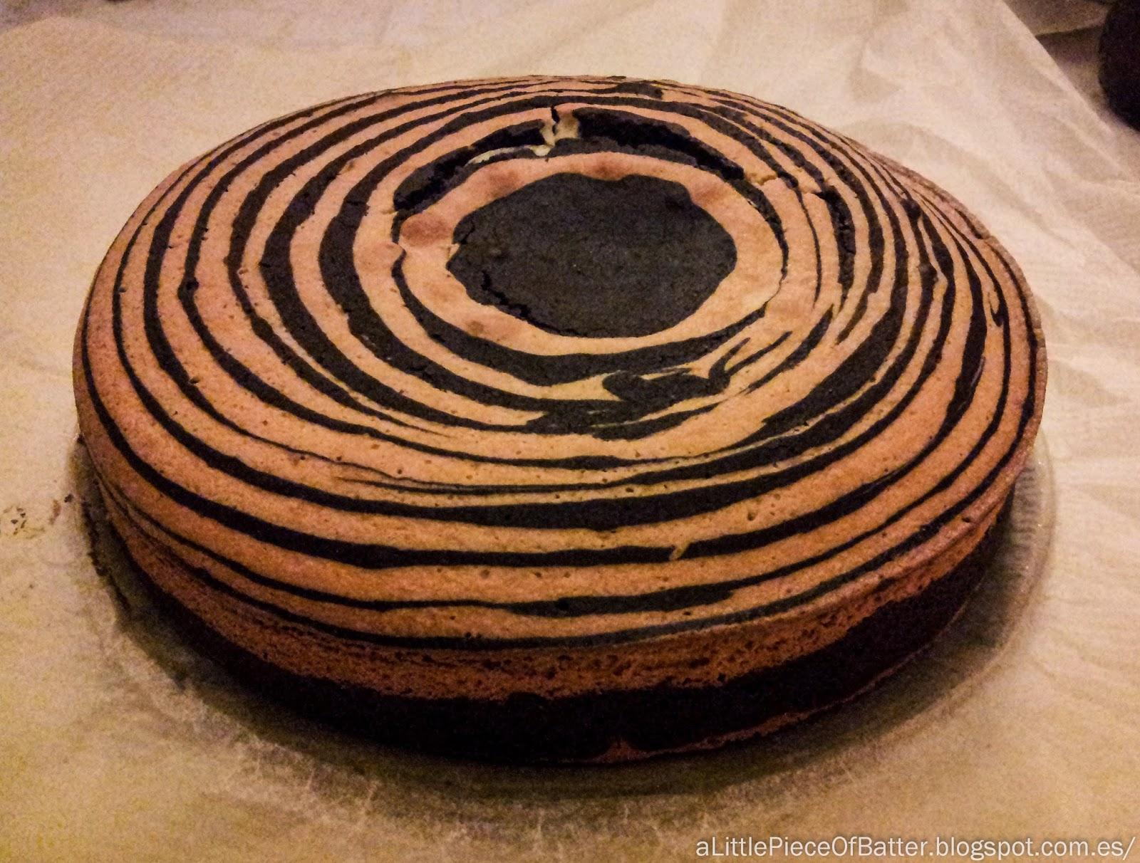 Zebra Cake - Tarta de Cebra