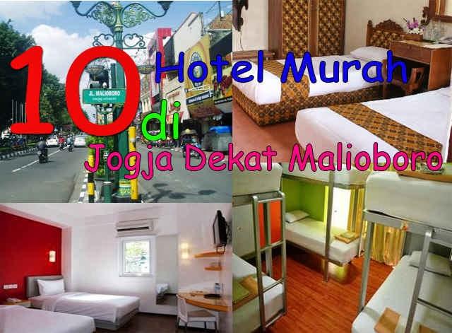 10 Hotel Murah Di Jogja Dekat Malioboro