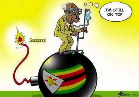 #MugabeMustGo