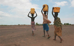 The Samburu people walk an average of 4 miles each day to fetch DIRTY water for their families!!
