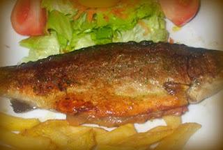 Truchas con jamón