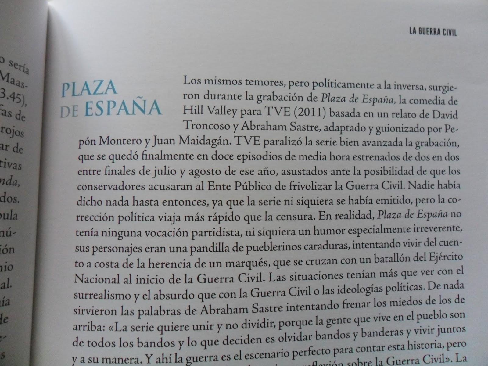 Plaza de España, fracaso de TVE, está incluida en España en serie