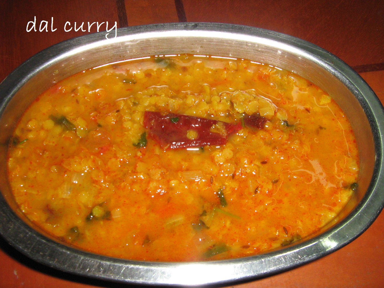 Vegetarian Indian Recipes: Masoor dal / red lentils curry