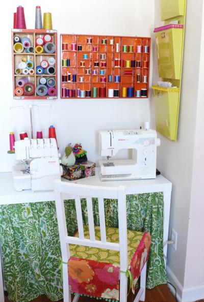 Decorando cuartos de costura for Muebles para costura