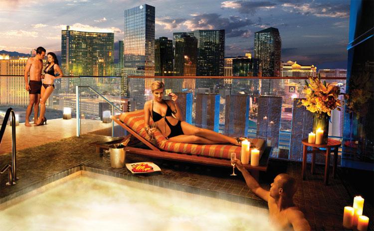 Luxury life design mgm grand skyline terrace suite for Skylofts 1 bedroom loft suite