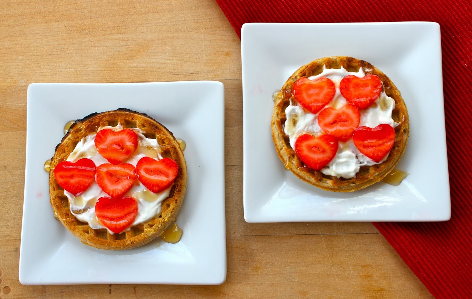 360FamilyNutrition: Honey Yogurt Waffle