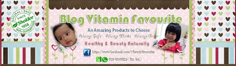 Blog Vitamin Favourite