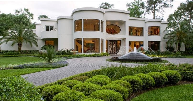 tpica fachada de lujo con pileta al exterior por exterior worlds landscaping u design