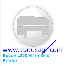 bagaimana cara mencari driver printer epson online