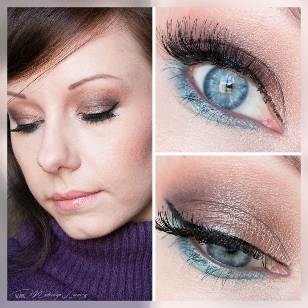 AMU EOTD Augen Makeup Seductive Smokey Eyes