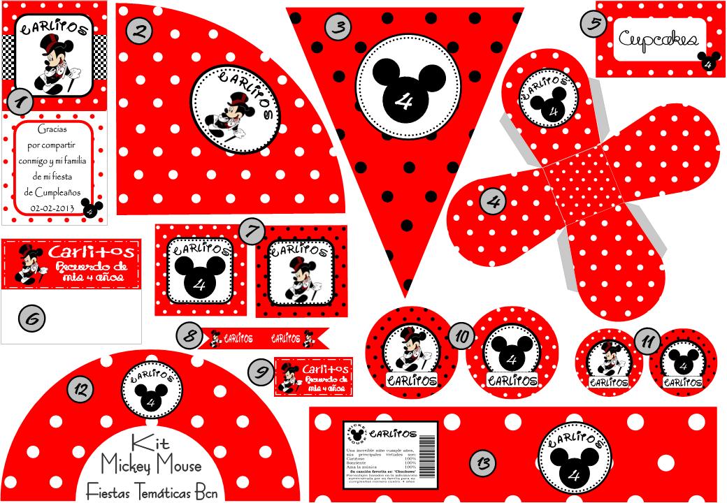 Fotos Para Imprimir De Mickey Mouse