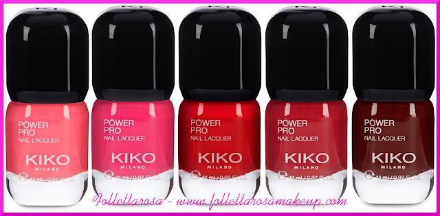 power pro nail lacquer kiko foto
