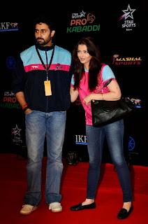 Aishwarya Rai and Abhishek Bachchan at Pro Kabaddi League Final (4).jpg