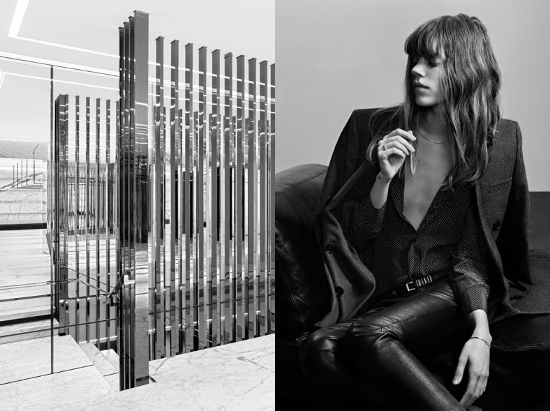Freja Beha Erichsen, Saint Lauren Paris, Freja Beha Erichsen for Saint Laurent Paris, 2013, Hedi Slimane, Campaign, Hedi Slimane Campaign, Fall Winter 2013, YSL