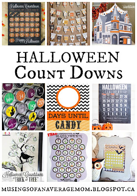 Halloween Count Down Round-Up