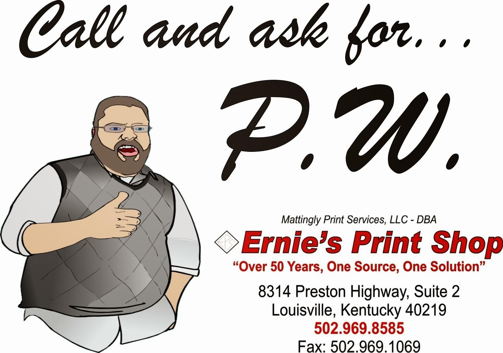 Ernie's Print Shop