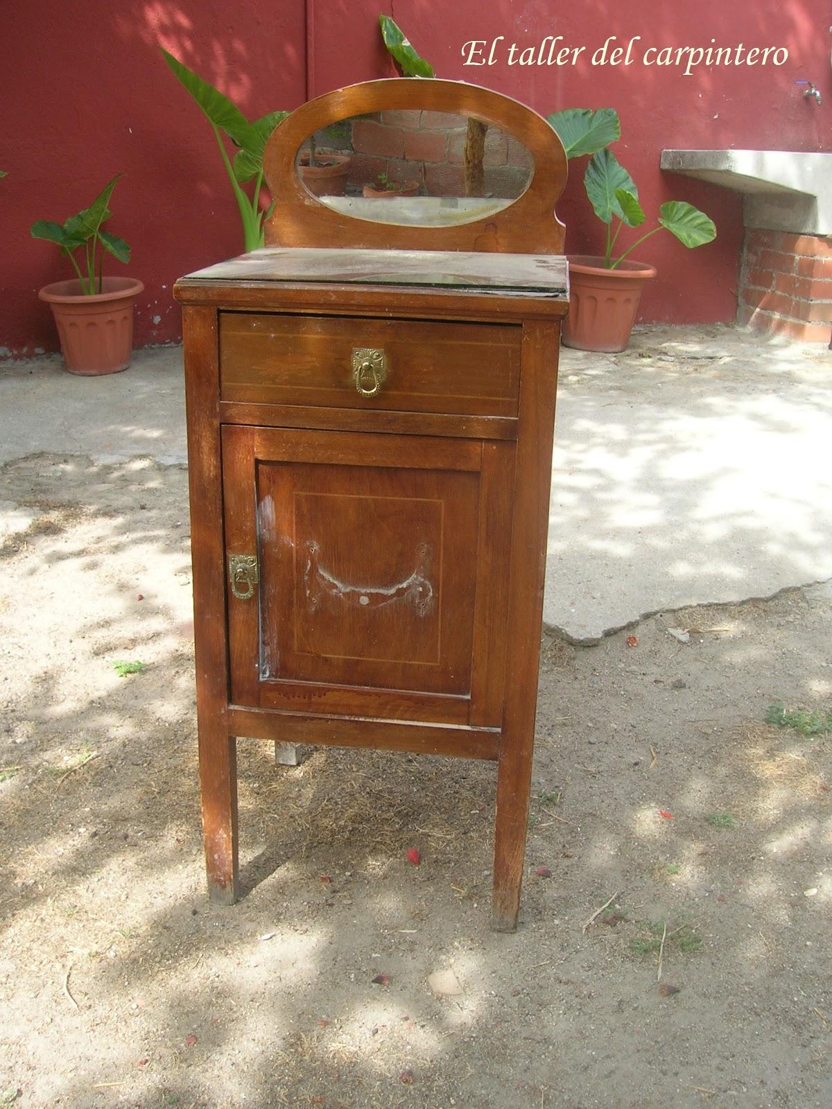 El taller del carpintero mesillas de noche - Mesillas antiguas ...