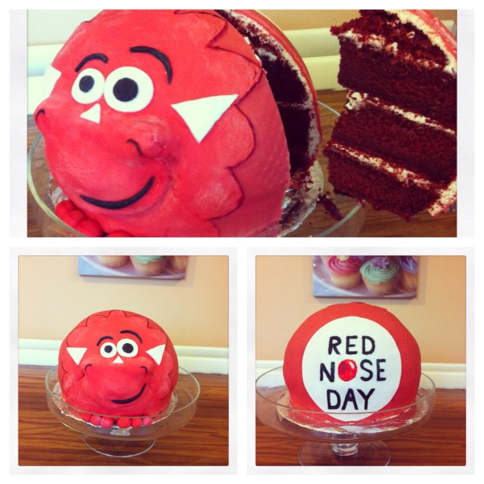 Red Nose Cake Images : Red nose day bake off recipes
