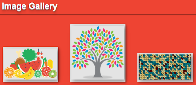 Cool Image Gallery Using CSS