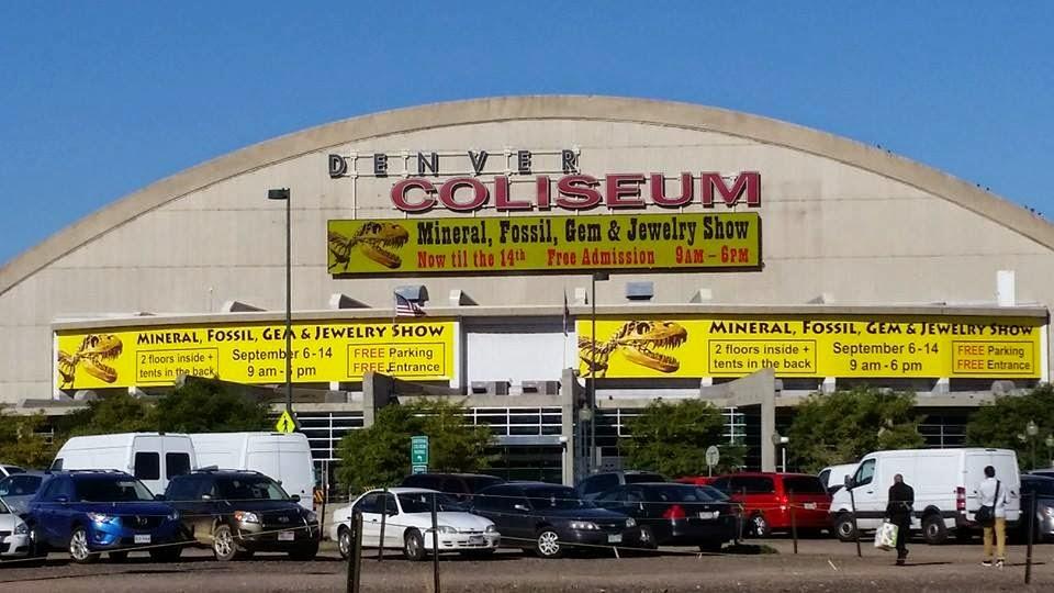 Ez Guide To Gem And Mineral Shows Gemshow Denver Day