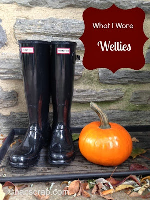 Mid-Life Mom Style - Hunter Wellies