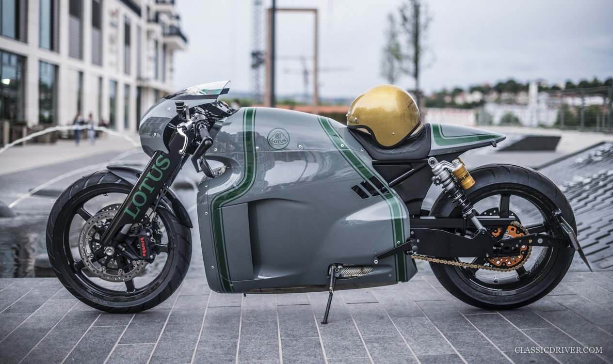 lotus motorcycles c 01 return of the cafe racers. Black Bedroom Furniture Sets. Home Design Ideas