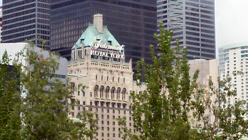 This Famous Hotel Was One Of The First Buildings In The City To Grow Food  On The Roof.