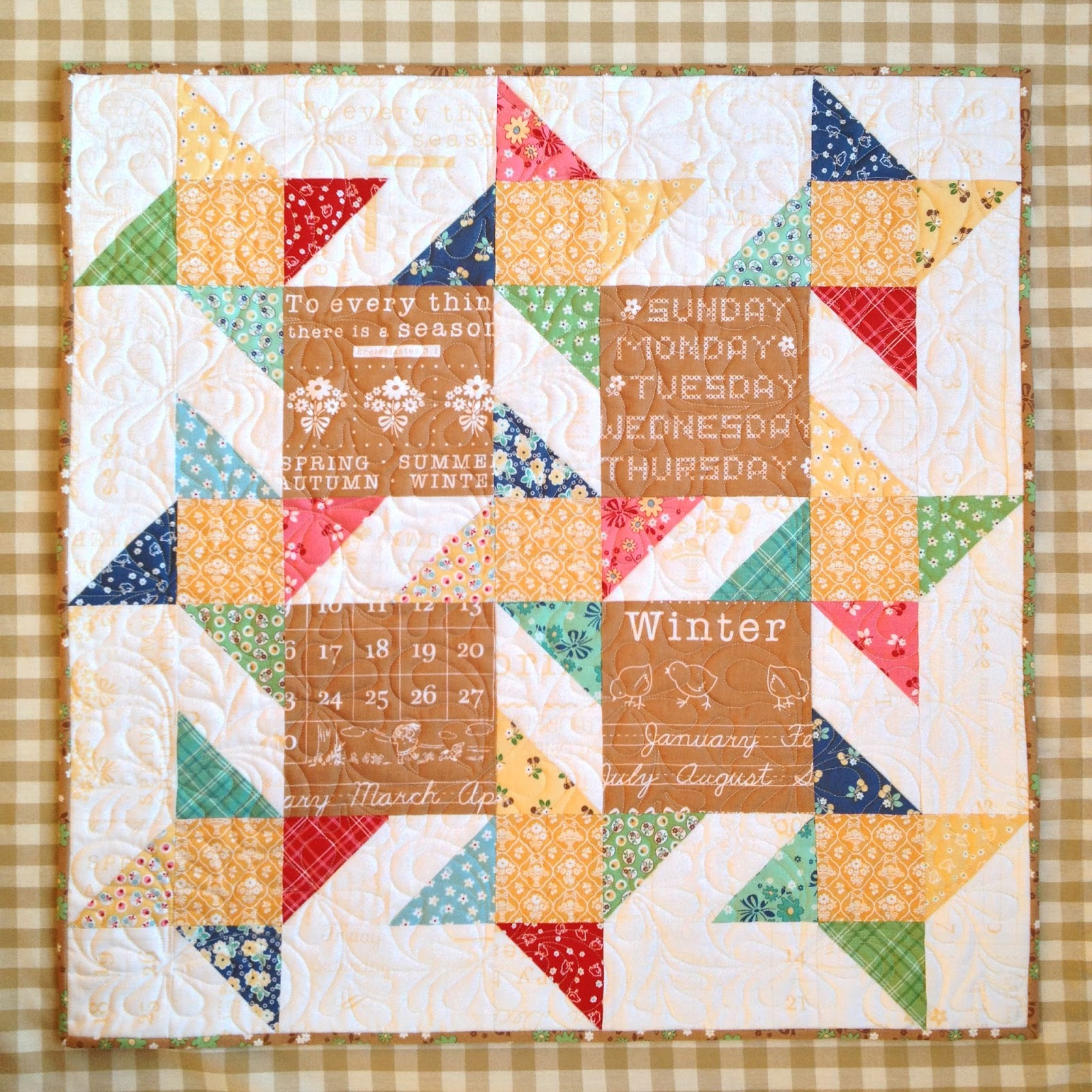 Carried Away Quilting: Mini Story Stars in Calico Days : quilts n calicoes - Adamdwight.com