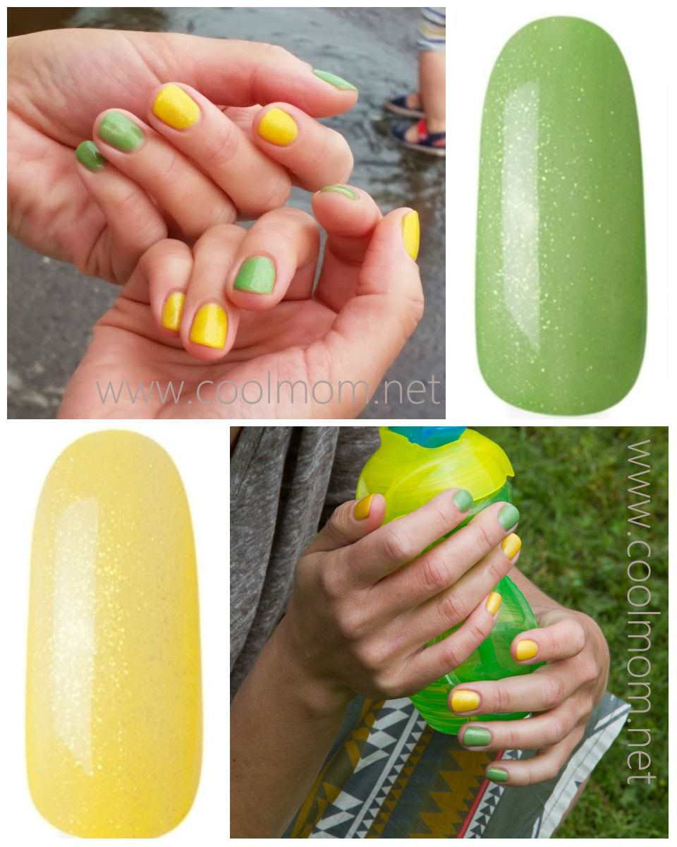 Фото ногтей гель лак желтого цвета