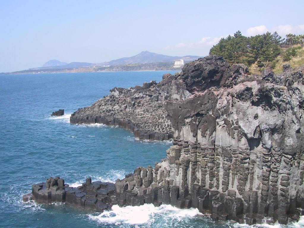 : South Korea  Wind amp; stone in Jeju island – Island of the Gods