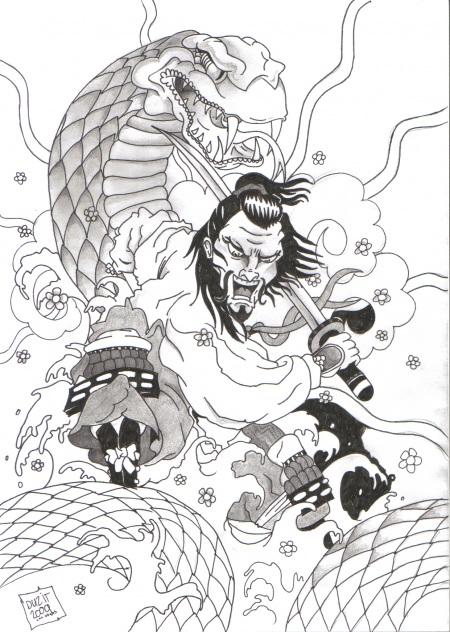 tatuajes de samurais diseños y significado - Taringa!