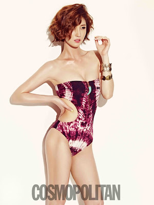 Lee Soo Kyung Cosmopolitan July 2013 Sexy