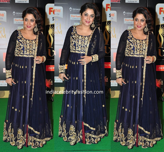 Ramya Krishna in Floor Length Anarkali
