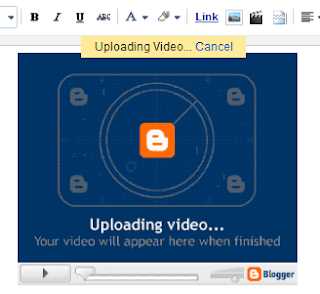 tutorialblog upload video