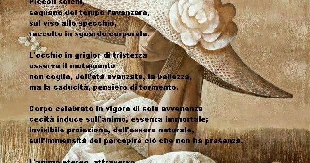 Nero su bianco di maria antonietta poesia su immagine - Poesia lo specchio ...